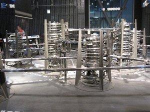 螺旋状のタワーがルーター