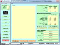 OBD2Spy起動直後の画面