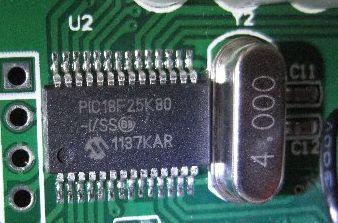 PIC18F25K80